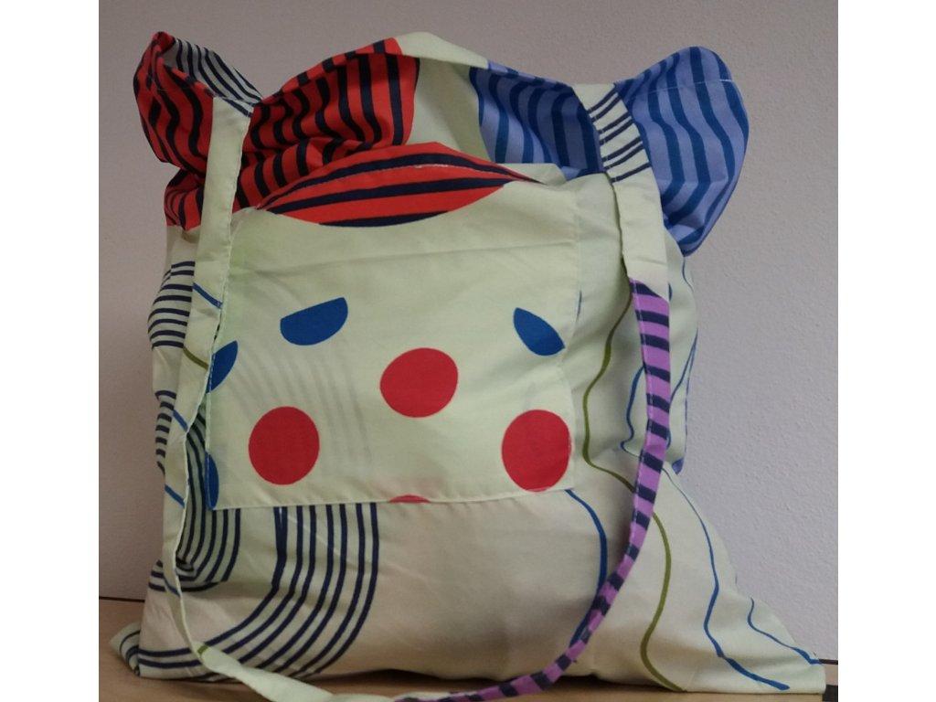 Látková nákupní taška - Zelená