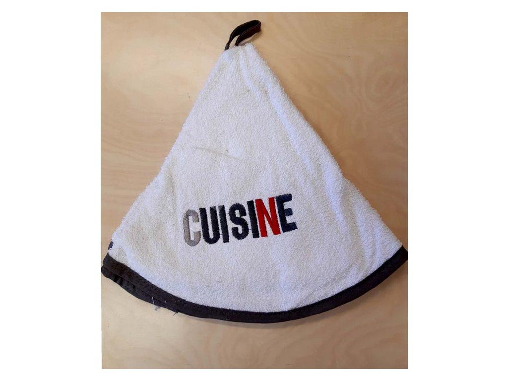 Kulatý ručník - Cuisine