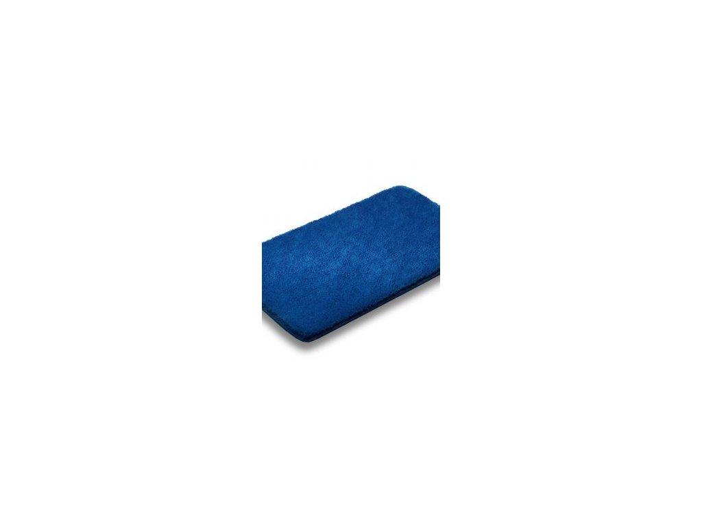 Koupelnová předložka 50x80cm - modrá royal