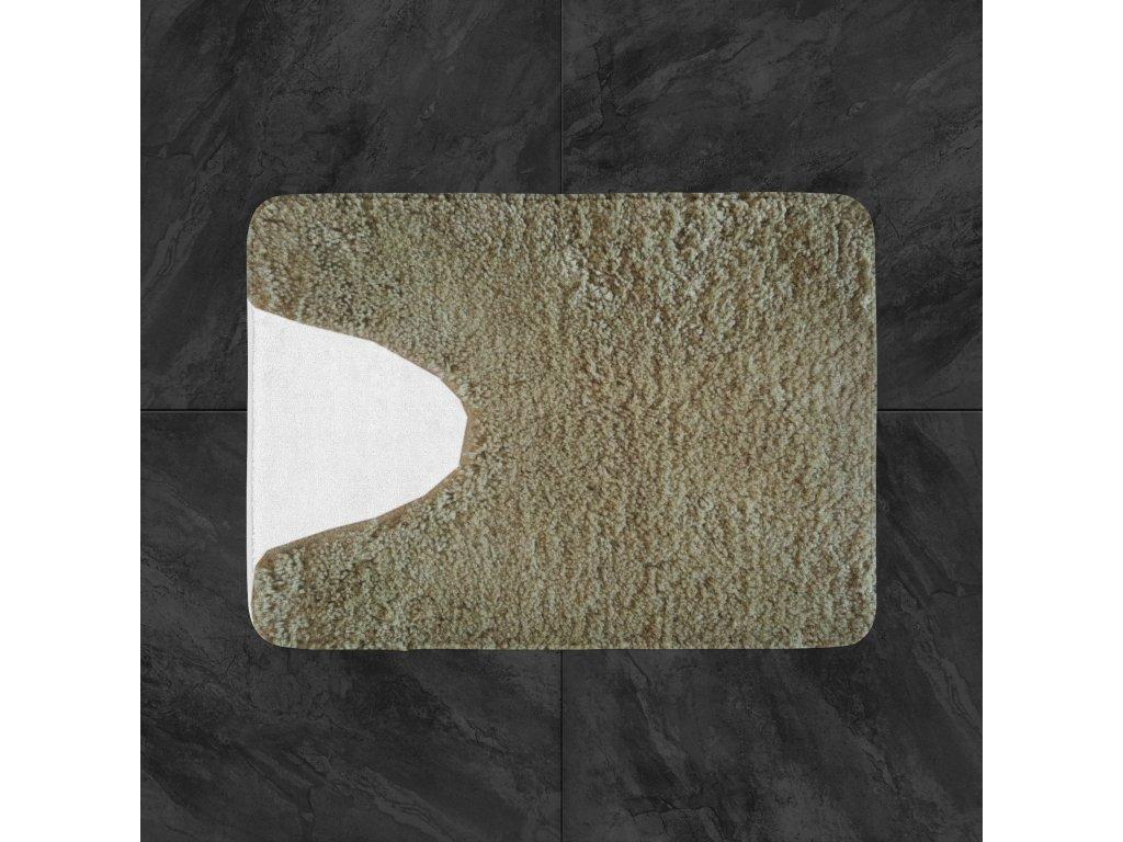 Předložka na WC 50x50 cm - krémová