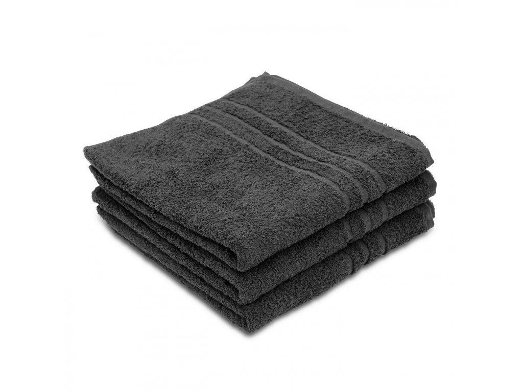 Ručník Standard černý