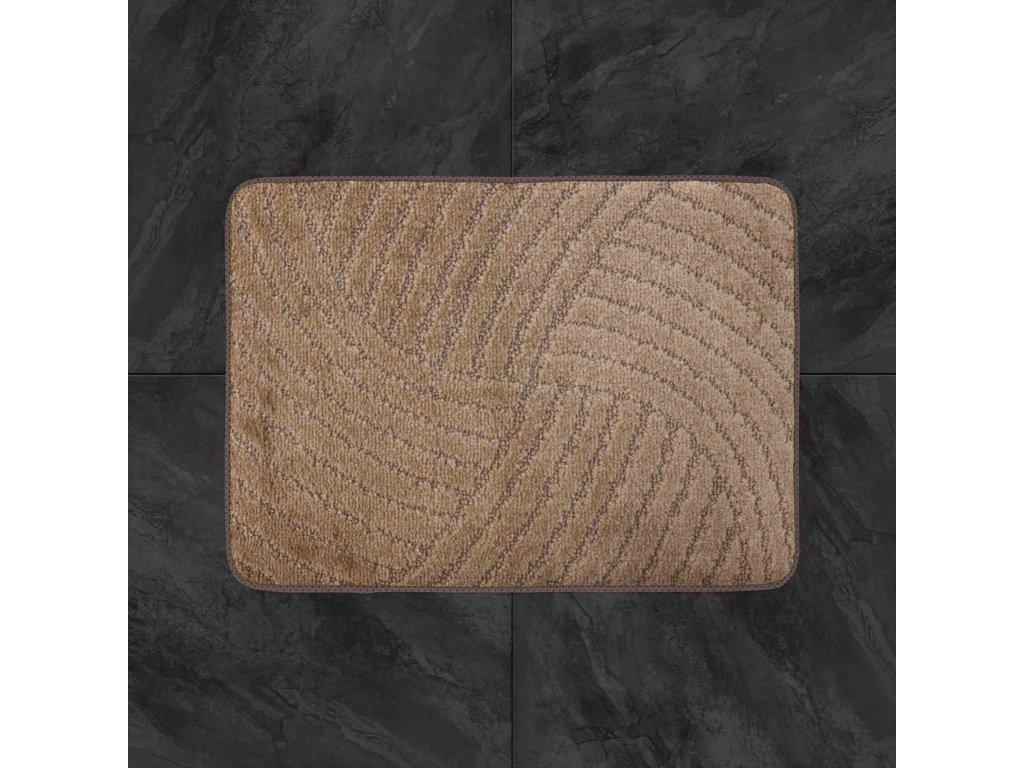 Koupelnová předložka Classic 50x80cm - světle hnědá