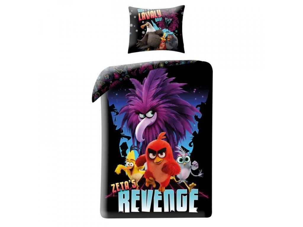 Bavlněné povlečení Angry Birds