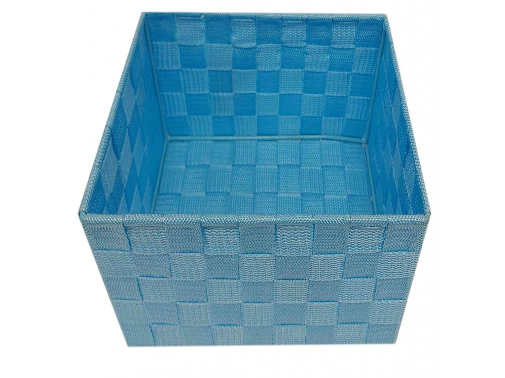 Košík modrý 23x15x11