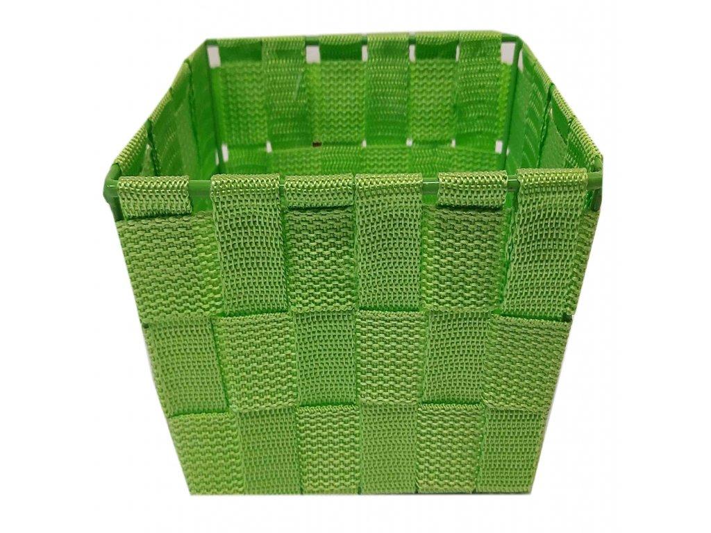Košík zelený 25x17x13