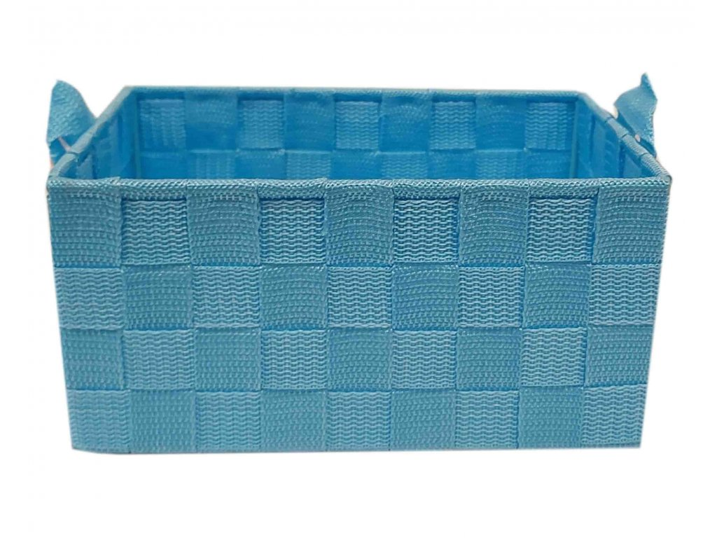 Košík modrý 32x23x11