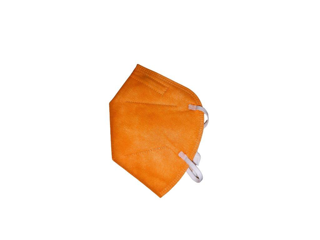 Respirátor Oranžový