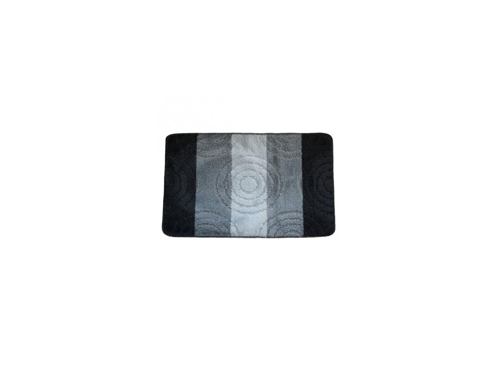 Koupelnová předložka Comfort 50x80cm- černé pruhy