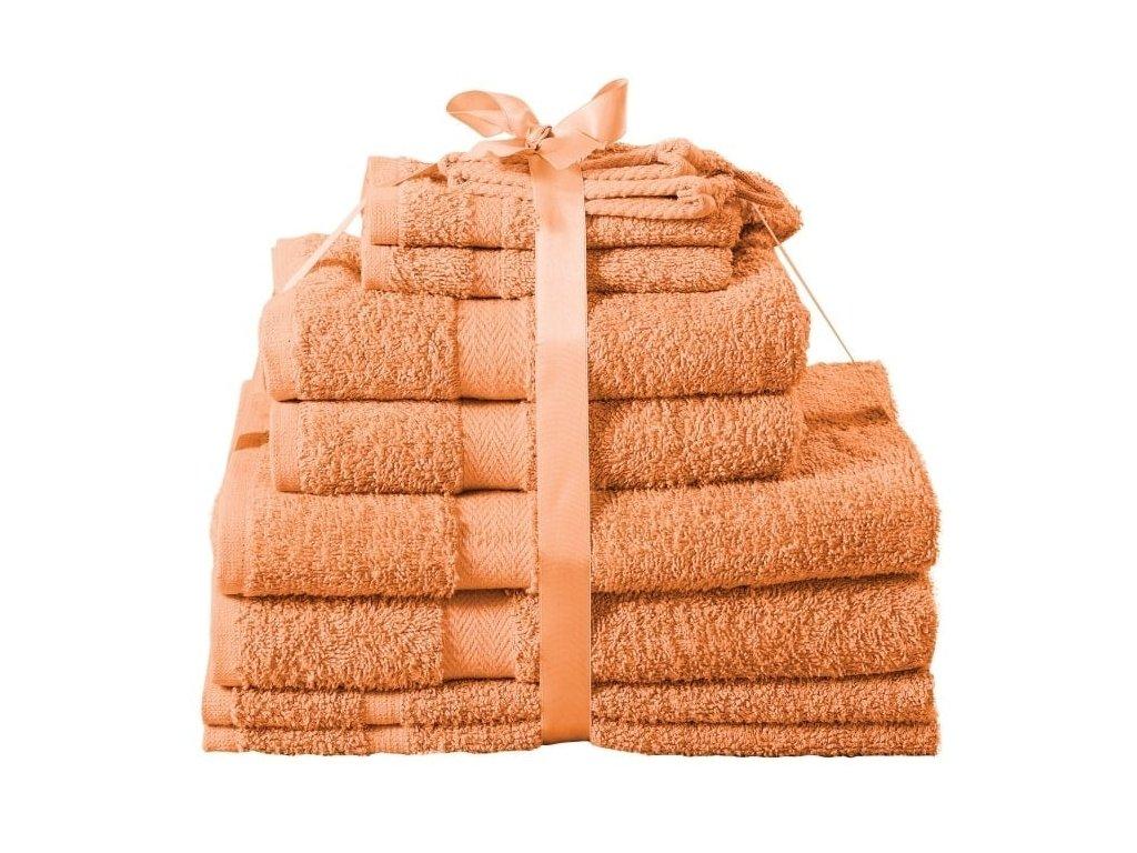 Sada ručníků Kombo jambo oranžová