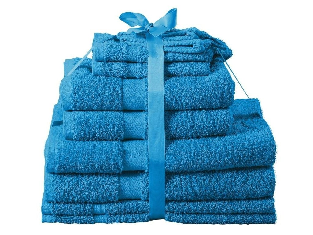 Sada ručníků Kombo jambo modrá