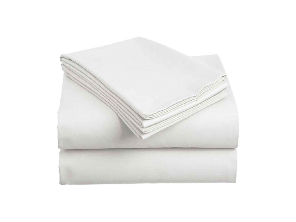 Bavlněné prostěradlo - Plachta Bílá