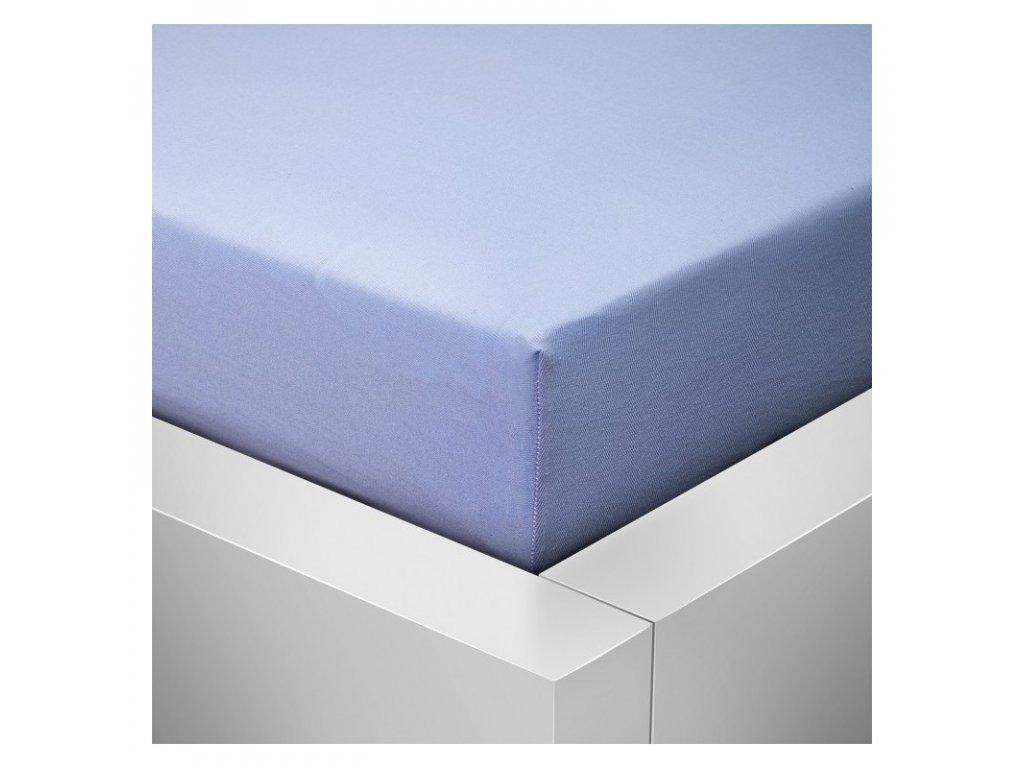 Prostěradlo Jersey Top 160x200 cm světle modrá