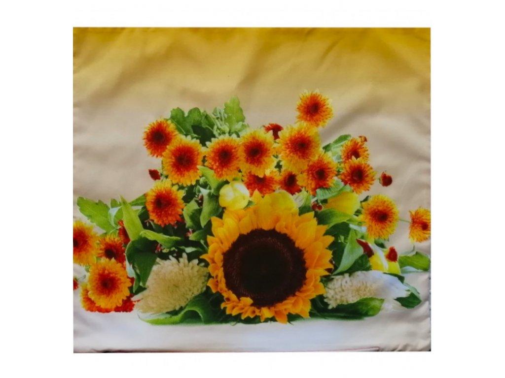Polštářek Kytice slunečnic