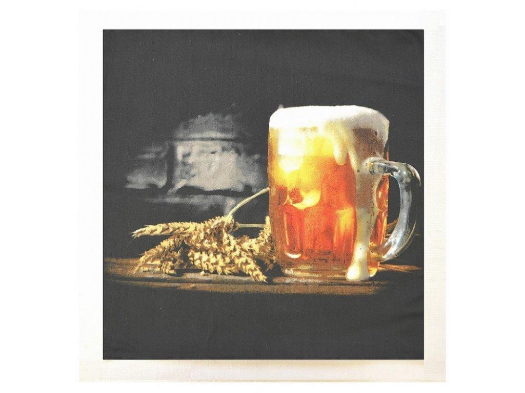 Polštářek Pivo