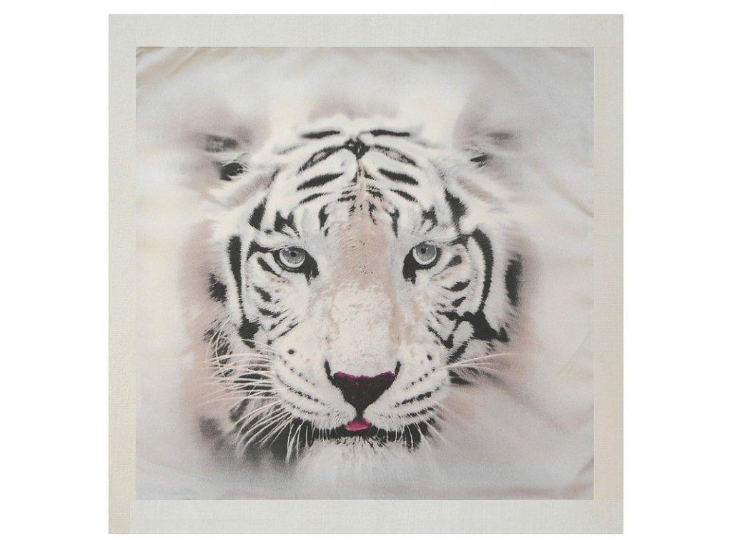 Polštářek Šedý tygr