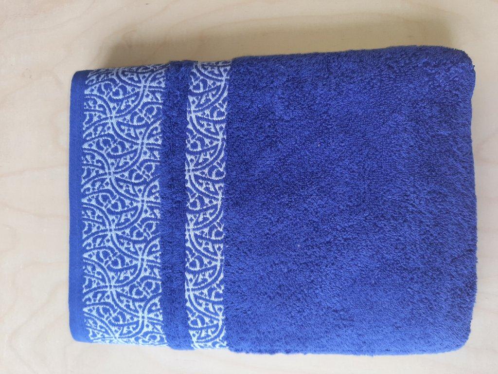 Osuška Orient - modrá