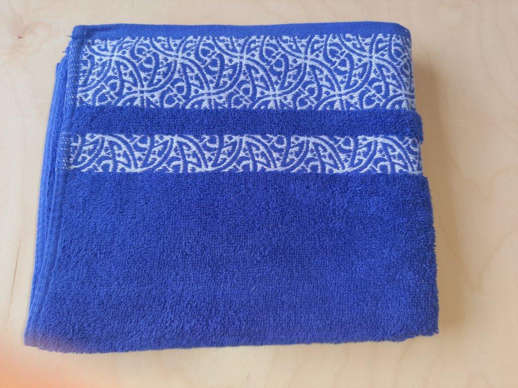 Ručník Orient modrý