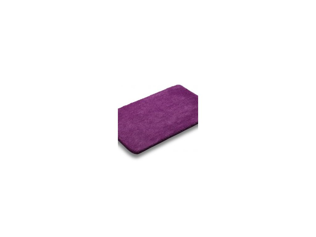 Koupelnová předložka 50x80cm - fialová