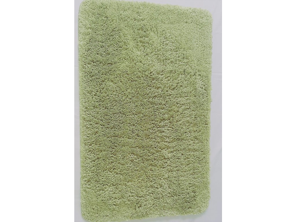 Koupelnová předložka 50x80cm - zelená oliva