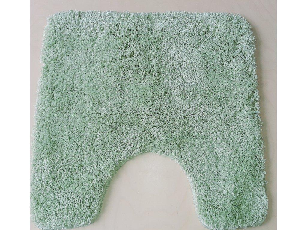 Předložka na WC 50x50 cm - zelená oliva