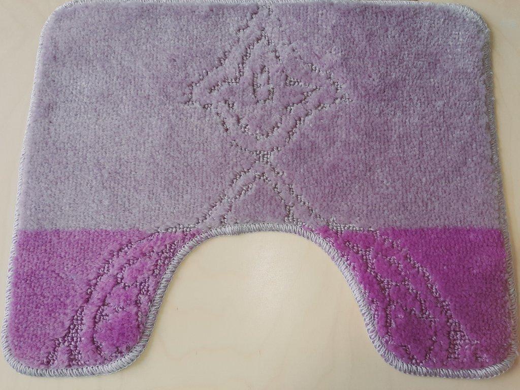 Předložka na WC 40x50cm - fialová