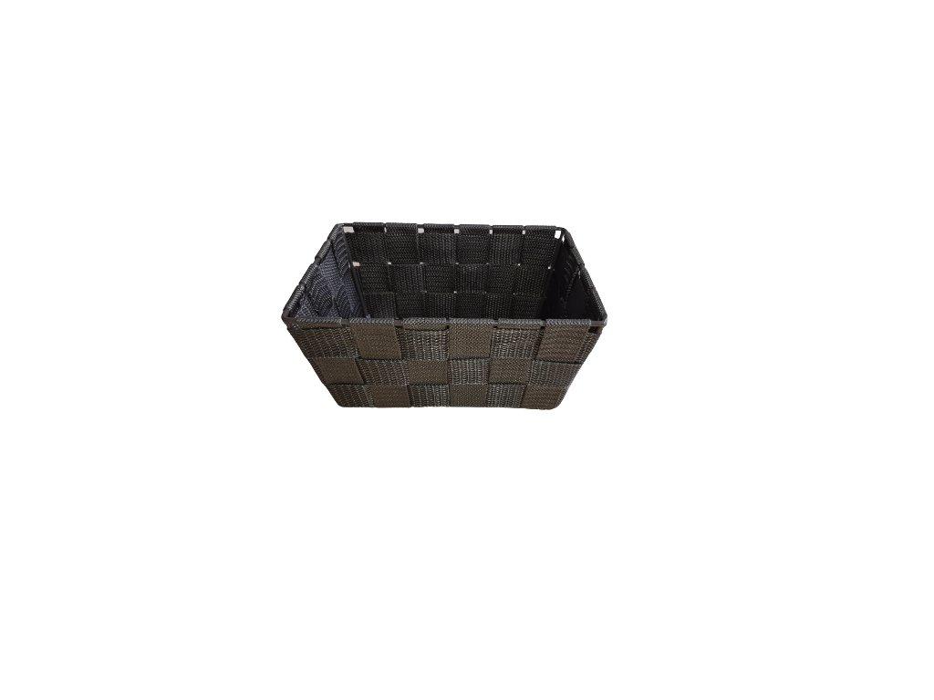 Košík hnědý 19x14x9 cm