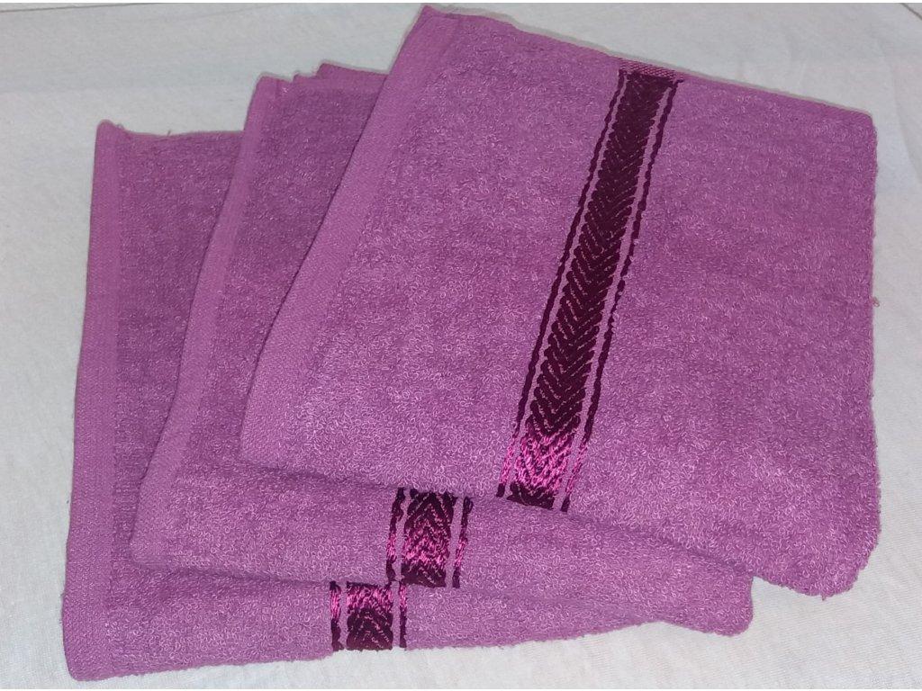 Ručník Soft fialový