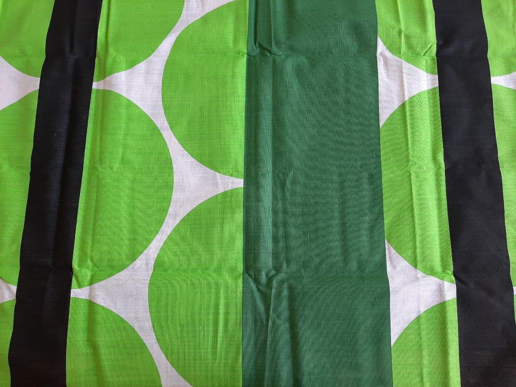 Poslední kus bavlněné povlečení Zelený kruh