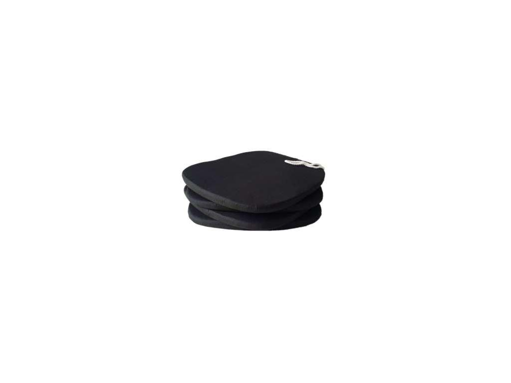 Poslední kus - Sedák klasik Černý Mikro