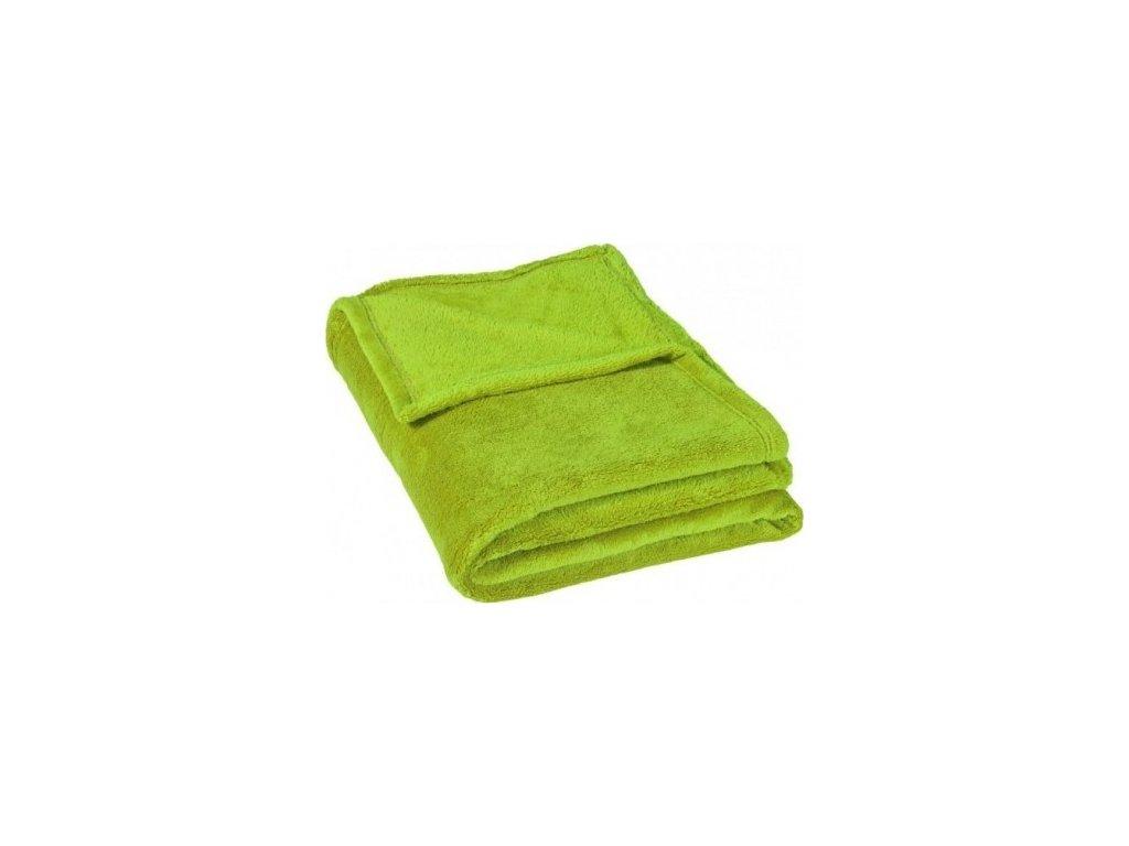 Poslední kusy - Deka Mikroflanel zelená 200x230