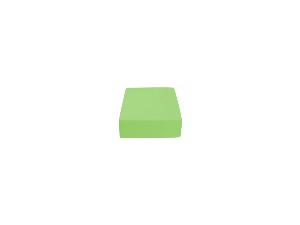 Poslední kus - Prostěradlo Froté Top 90x200cm zelené jablko