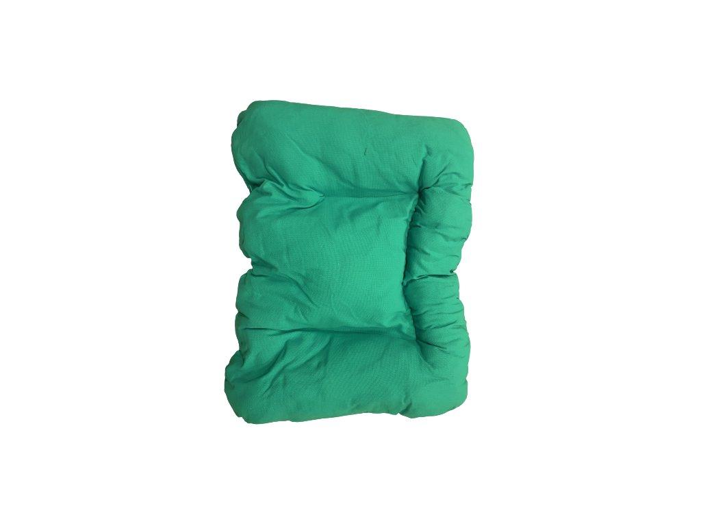 Pelíšek pro psa zelený