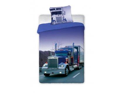 Bavlněné povlečení Kamion