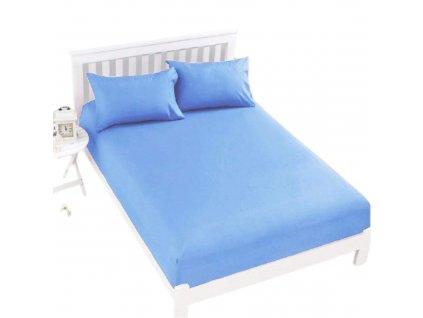 Prostěradlo Jersey Top 180x200 cm světle modrá