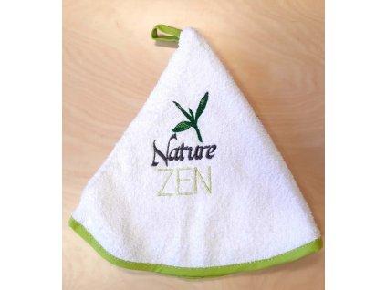 Kulatý ručník - Nature