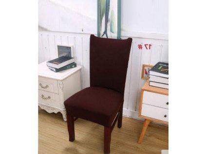 Potah na židli - hnědý