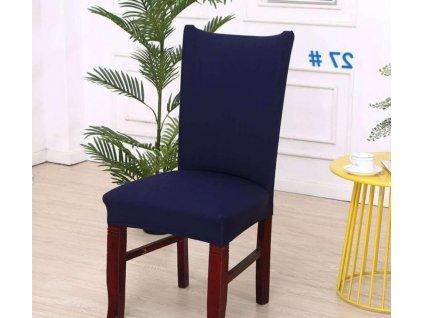 Potah na židli - Tmavě modrý
