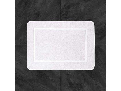 Koupelnová předložka 50x70 - bílá hotel
