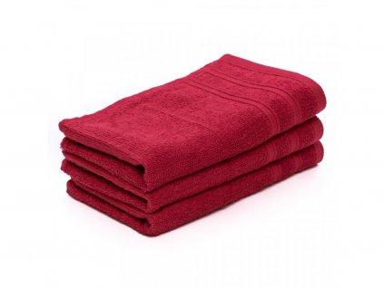 Dětský ručník Top červený 30x50 cm