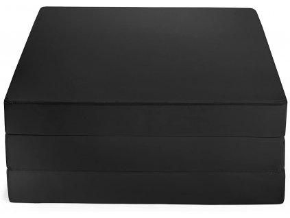 Skládací matrace černá