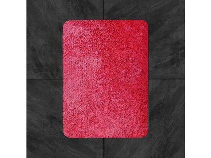 Koupelnová předložka 50x80cm - červená