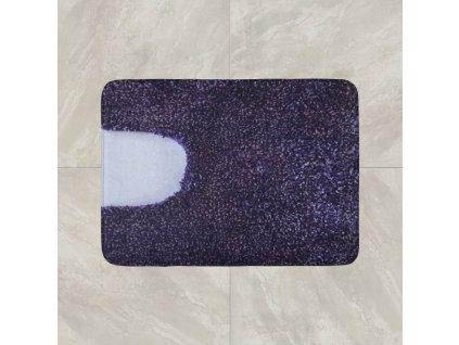 Předložka na WC 50x50 cm - fialová