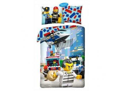 Bavlněné povlečení Lego City