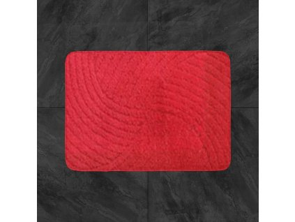 Koupelnová předložka Classic 50x80cm - červená