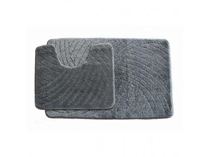 Koupelnový set Classic - tmavě šedý