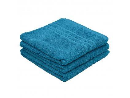 Osuška Standard azurová modrá