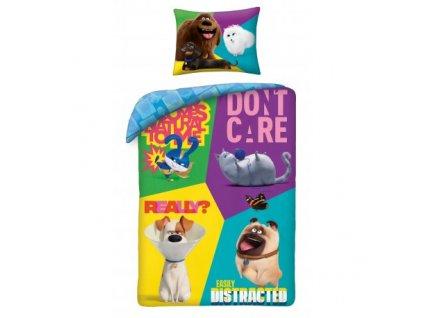 Bavlněné povlečení Secret Life Of Pets