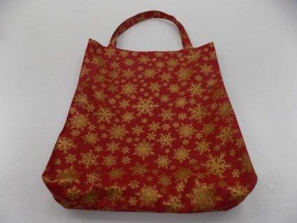 Vánoční taška červená