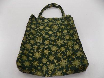 Vánoční taška zelená