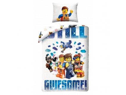 Bavlněné povlečení Lego movie